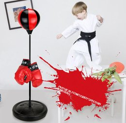 $enCountryForm.capitalKeyWord Australia - vent ball foreign trade sports boxing set decompression toy Children boxing indoor and outdoor speed boxing ball Inflatable cross-border