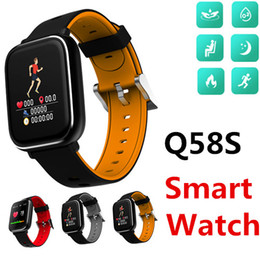 HandHeld watcH online shopping - Q58S D dynamic UI GPS Smart Watch Bracelet IP67 heart rate replacement standby desktop smart photos the handheld bright screen Packs