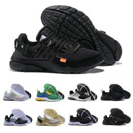 sports hiking 2019 - Acronym X Air Presto Running Shoes For Men Women Off Prestos V2 BR QS Ultra Black Blue Green White Luxury Designer Sport