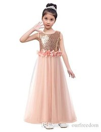 feathered flower girls wedding dress UK - Real Image 2019 Blush Pink Tulle Flower Girls Dresses 3D Flora Appliques Floor Length Zipper Back First Communion Dresses