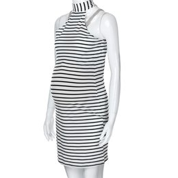 Sexy Under Clothes UK - Summer Maternity Clothes Women Maternity Pregnants Sleeveless Striped Dress Sexy Mini Casual Dress Pregnancy Dress JE15#F