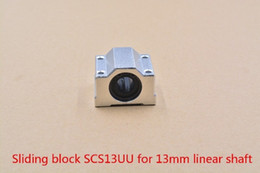 Linear Blocks Australia - SCV13UU SCS13UU SCS13UUAJ bearing 13mm linear bearing slide block with LM13UU bearing for 13mm shaft 1pcs
