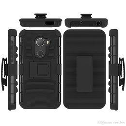 $enCountryForm.capitalKeyWord Australia - Dual Layer Full Body Protective Hybrid Rugged Case for Alcatel Fierce 4 Pop4 Plus A50 Crave Revvl A30 Shockproof Cover Belt Clip Holster