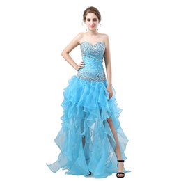 $enCountryForm.capitalKeyWord UK - Strapless Ruched Mermaid Evening Dresses Floor Length Sequins Beaded Crystals Ruffles Split Party Dress Formal Pageant Celebrity Gowns