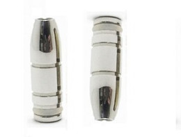 Electronic Cigarette Accessories Wholesale Mouthpieces Australia - Bullet Shaped 510 Drip Tip VAPE SMOKING Electronic cigarette Mouthpiece Stainless Steel metal mouth Drip Tips e cig Accessories holder