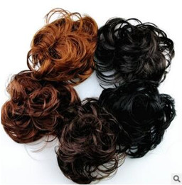Product Mixes NZ - Mix Colores Fashionate Fluffy Cross Border Rubber Band Bun-Like Colores Donut Chignons Hair Extensions Hair Products HA127