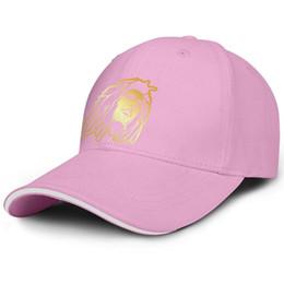$enCountryForm.capitalKeyWord Australia - Bob Marley Face Jamaica Reggae music pink Men and women fishing cap adjustable baseball caps custom cute Professional hats