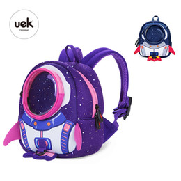 Baby Bags For School Australia - 2018 New 3d Children School Bags Cute Anti-lost Children's Backpack School Bag Backpack For Children Baby Bags For Age 1-6 Y19051701