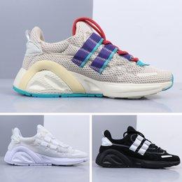 42938f28 2019 venta caliente zapatillas de deporte luz gris marrón triple negro gris  Kanye West botas de cuero de los hombres de las mujeres deportes zapatos al  aire ...