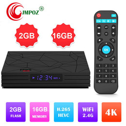 Best Media Player Android Australia - 2019 Best selling M9S W5 Android 7.1 TV BOX amlogic S905W quad core 2GB 16GB built-in 2.4G WIFI 4K smart set top box IPTV Media Player