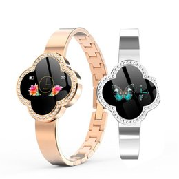Ladies braceLet watches online shopping - Women Smart Watch S6 Smart Bracelet Reloj Blood Pressure Heart Rate Monitor Fitness Tracker Sport Wristband For Android iOS Lady