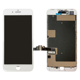 Iphone Screen Testing Australia - New Arrival For Iphone 8 plus 5.5inch Screen Replacement Touch Screen Digitizer LCD Display With Metal Plate Pre Assembly 100% Tested