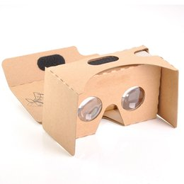 Virtual Glasses 3d For Iphone Australia - 3D Glasses Light Castle Card Style Virtual Reality VR BOX II Glasses For 3.5 - 6.0 Inch Smartphone Glass For Iphone Samsung