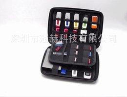 U Disk Sabit Disk Saklama Çantası - Mini Dijital Ürünler için USB Kablosu Organizatör Kılıfı Kutusu, HDD, USB Flash Sürücü, Veri Kablosu, Banka Kartı