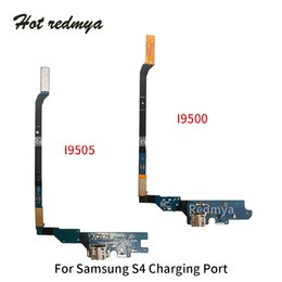 port dock connector Australia - New Charging Port For Samsung Galaxy S4 i9500 i9505 i545 i337 USB Dock Connector Flex Cable Replacement Parts