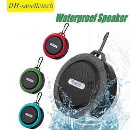 $enCountryForm.capitalKeyWord Australia - C6 Speaker Bluetooth Speaker Wireless Potable Audio Player Waterproof Speaker Hook And Suction Cup Stereo Music Player High Quality