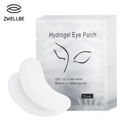$enCountryForm.capitalKeyWord Australia - 50pairs pack New Paper Patches Eyelash Under Eye Pads Lash Eyelash Extension Paper Patches Eye Tips Sticker Wraps Makeup Tool