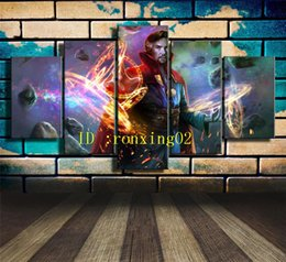 Doctor Prints Canvas Australia - Doctor Strange -1 ,5 Pieces Home Decor HD Printed Modern Art Painting on Canvas (Unframed Framed)