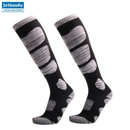 warmest thermal socks UK - 3 pairs Winter Warm Men Women Thermal Long Ski Socks Stockings Thicken Sports Breathable Outdoors Skiing Socks