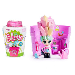 BaBies toy Boxes online shopping - ins Flowerpot Blind Box Gift Package Fashion Surprise Baby Toy Dolls Watering Will Hair Magic Toys For Children Girls Christmas Gift zx02