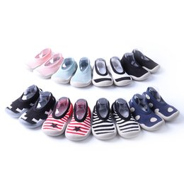 $enCountryForm.capitalKeyWord Australia - 9 Colors Infants rubber soft sole knitted indoor shoes Baby boys girls slip-on anti-slip house outfoor shoes floor socks 6m-4T sock shoes