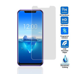 definition screens 2019 - For Oukitel C12 Pro High Definition Tempered Glass Oukitel C12 Pro Hardness Mobile Phone Protective Film Explosion-Proof