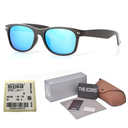 Rimless glasses foR women online shopping - New arrival Brand Designer sunglasses for men women Mirror glass lens fashion plank frame Metal hinge with free Retail cases and box