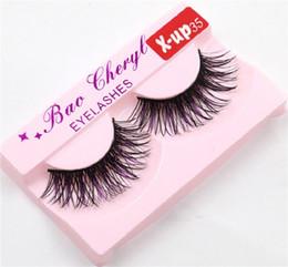 $enCountryForm.capitalKeyWord Australia - Bao Cheryl Supernatural Lifelike Handmade False Eyelash 3D Strip Lashes Thick Fake Faux Eyelashes Makeup Beauty Supplies