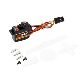helicopter trex UK - 4x EMAX ES08MDII ES08MD II Metal GEAR Digital Servo up sg90 ES08A ES08MA MG90S TREX 450 Free shipping