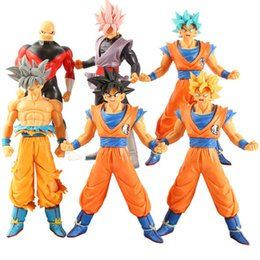 Western ornaments online shopping - Dragon Ball z action figures Wukong Super Saiyan generation generation inch Dragon Ball Broli Wuji Tower ornaments for gift V098