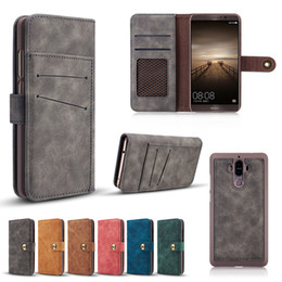 $enCountryForm.capitalKeyWord Australia - Furry Frosted Detachable Leather Wallet Pouch Phone Shell Matte Holster Car Mount Back Case for iPhone XS Max XR 8 Samsung S10 Huawei