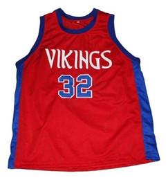 $enCountryForm.capitalKeyWord NZ - wholesale Johnson #32 Vikings Basketball Jersey New Red Stitched Custom any number name MEN WOMEN YOUTH BASKETBALL JERSEYS