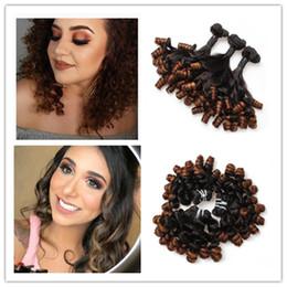 $enCountryForm.capitalKeyWord UK - Beauty Aunty Funmi Bouncy Curls Unprocessed Brazilian Virgin Hair Fumi Hair Bundles Brazilian weaves Romance Curl Remy Hair Extensions J157