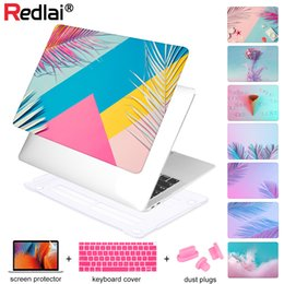 $enCountryForm.capitalKeyWord Australia - Laptop Case for MacBook 12 inch A1466 A1932 Pro 13 15 Retina 2018 Touch bar Gradient Print Pattern Plastic Sleeve