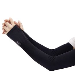 $enCountryForm.capitalKeyWord Australia - Section Drove UV Sunscreen Half Finger Cuff Sunscreen Arm Sleeves Hand Protection Women Men Fingerless Long Gloves
