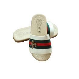 Baby Girl Summer Canvas Shoes Australia - Toddler Girls Shoes Sandals Baby Slipper Children Soft sole Summer New Pattern Princess Cool Shoe bee kids girls slipper
