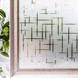 $enCountryForm.capitalKeyWord Australia - Cottoncolors Privacy Films No-glue Static Decorative Frosted Window Cover Stickers Size 45 X 200cm Q190601