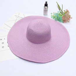 $enCountryForm.capitalKeyWord UK - Wide Brim Floppy Fold Sun Hat Summer Hats for Women Out Door Sun Protection Straw Hat Women Beach Hat