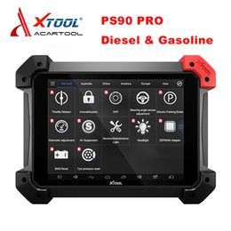 Odometer For Toyota Cars Australia - Professional XTOOL PS90 PRO Diagnostic Tool For Diesel&Gasoline Heavy Duty Car Truck OBD2 Key Programmer Odometer Adjustment