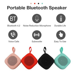 Wholesale W1 Portable Speaker Wireless Bluetooth Outdoor Mini Speaker Ultra Small Size Touch Pocket Speaker Support Voice Calls