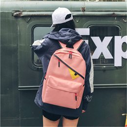 Discount harajuku backpack fashion - Backpack fashion cartoon devil eye canvas backpack harajuku korean style backpack school bag free ship