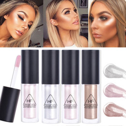 face glow cream Australia - HengFang Brand Highlighter Illuminator Contouring Makeup Face Brightener Concealer Liquid Highlighter Primer Bronzer Face Glow Cosmetics