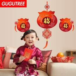 $enCountryForm.capitalKeyWord UK - Decorate Home chinese new year art wall sticker decoration Decals mural painting Removable Decor Wallpaper G-2591
