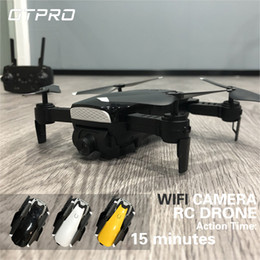 Wifi Electric Australia - X41 2MP RC DRONES WIFI FPV With Wide Angle HD Camera High Hold Mode Foldable Arm RC Quadcopter Drone RTF VS XS809HW E58 H37