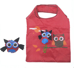 $enCountryForm.capitalKeyWord NZ - Handbag Easy Storage Portable Reusable Ladies Cartoon Animal Shopping Bag With Handle Eco-friendly Travel Folding Gift Tote