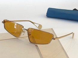 $enCountryForm.capitalKeyWord Australia - Luxury 0537S Designer Sunglasses For Women Fashion Wrap Sunglass Pilot Frame Coating Mirror Lens Carbon Fiber Legs Summer Style 0537