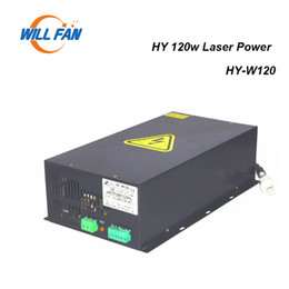 used co2 lasers Canada - Will Fan HY-W120 100W 120W Co2 Laser Power Supply For Laser Engrave Machine Use 100W Laser Box Parts