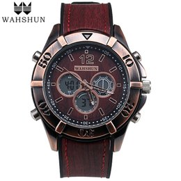 Men New Style Watches Australia - New Vintage Style Watch Men Dual Time Display Waterproof Classic Watches Leather Casual Watch Men Gift relogios masculino WS1006