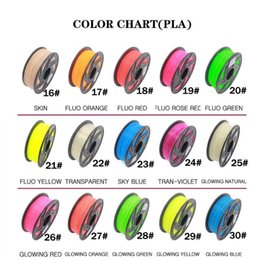 $enCountryForm.capitalKeyWord Australia - 2019 Hot sale PLA Filament 30 different colors 5M Color all 3D Pen Filament 3D Printer SGS Approval Material For 3D Printing Pen C13