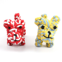 $enCountryForm.capitalKeyWord UK - Color random pet cotton rope toy dog toy pet molar tooth cleaning dog baby puppy cat toy pet supplies